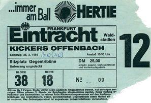 Eintracht Frankfurt Eintrittskarten